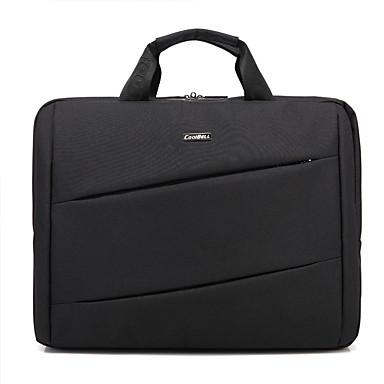 ipad pro / macbook / asus / lenovo cb-6205 için askılı 15.6 inç su geçirmez çok bölmeli laptop çantası