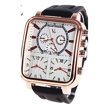 Bărbați Ceas Sport Ceas Militar  Ceas Elegant  Ceas La Modă Ceas de Mână Quartz Piloane de Menținut Carnea Piele Autentică Bandă Charm
