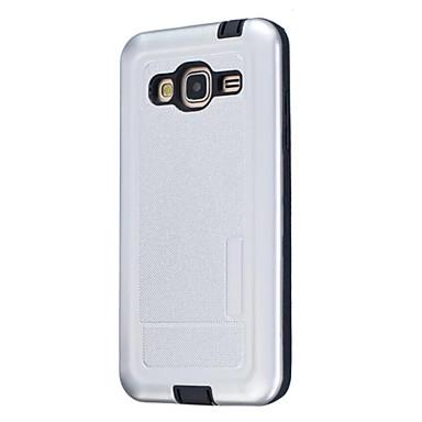 tok Για Samsung Galaxy J5 (2016) J3 (2016) Προστασία από τη σκόνη Πίσω Κάλυμμα Συμπαγές Χρώμα Σκληρή Σιλικόνη για J7 J5 (2016) J5 J3