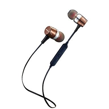 F16 في الاذن لاسلكي Headphones ديناميكي بلاستيك الرياضة واللياقة البدنية سماعة مع التحكم في مستوى الصوت / مع ميكريفون سماعة
