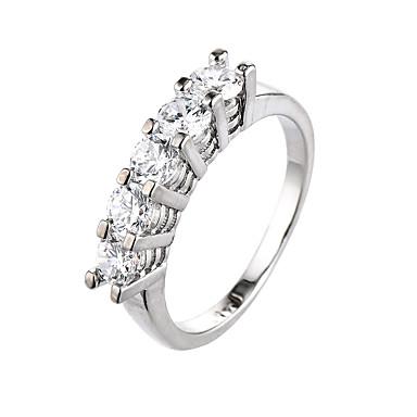 Γυναικεία Δαχτυλίδι Cubic Zirconia Ζιρκονίτης Cubic Zirconia Κράμα Κοσμήματα Causal