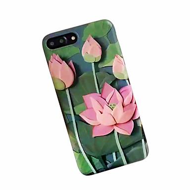 Etui Käyttötarkoitus Apple iPhone 7 Plus iPhone 7 Iskunkestävä Himmeä Kuvio Takakuori Kukka Pehmeä TPU varten iPhone 7 Plus iPhone 7