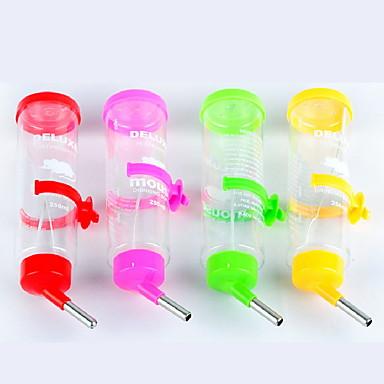 Τρωκτικά Κουνέλια Τσιντσιλά Χάμστερ Πλαστική ύλη Αδιάβροχη Μπολ & Μπουκάλια Νερού Τυχαίο Χρώμα