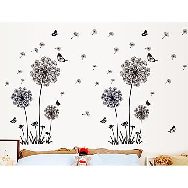 Romantizm Moda Serbest Duvar Etiketler Uçak Duvar Çıkartmaları Dekoratif Duvar Çıkartmaları, Kağıt Ev dekorasyonu Duvar Çıkartması Duvar
