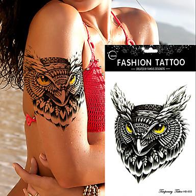 Naklejki z tatuażem Seria zwierzęca Non Toxic Waterproof Damskie Męskie Dla nastolatków Tattoo Flash Tatuaże tymczasowe