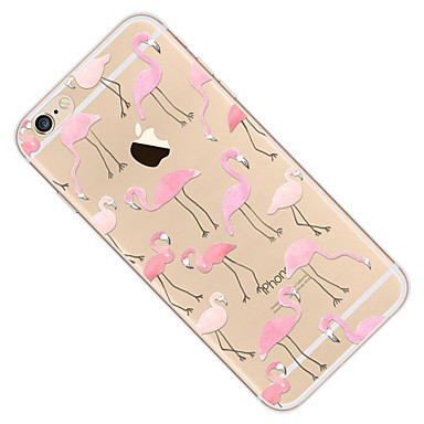 iPhone 7 6 Custodia disegno Apple Morbido 7 05556858 iPhone Ultra 8 Plus Fenicottero TPU Per iPhone retro iPhone sottile 8 Fantasia Plus iPhone Per q7qAvw8xT