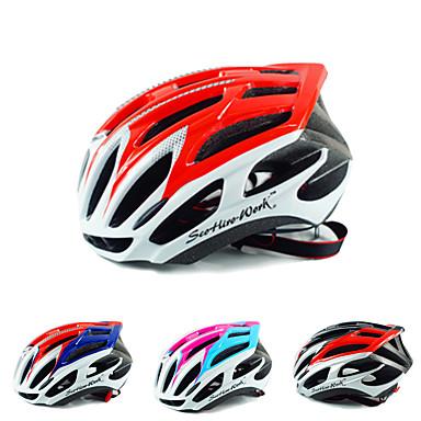 Bisiklet kaskı 36 Delikler Bisiklet Ayarlanabilir One Piece Ultra Hafif (UL) Sporlar PC EPS Bisiklete biniciliği / Bisiklet