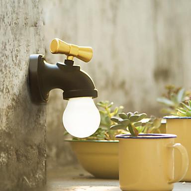 nouă reclamă USB reîncărcabilă de control vocal inteligent condus antic robinet robinet lumina de noapte lampă acasă 2 moduri