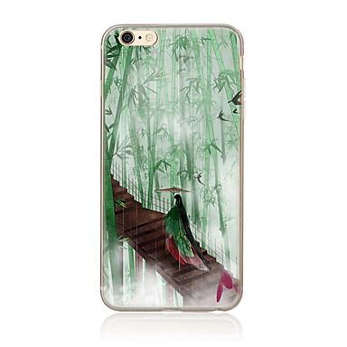 tok Για Apple Θήκη iPhone 5 iPhone 6 iPhone 7 Με σχέδια Πίσω Κάλυμμα Κινούμενα σχέδια Μαλακή TPU για iPhone 7 Plus iPhone 7 iPhone 6s
