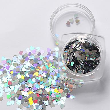 1 Paiete Alte decoratiuni Glitters Modă Neon & Bright Calitate superioară Zilnic