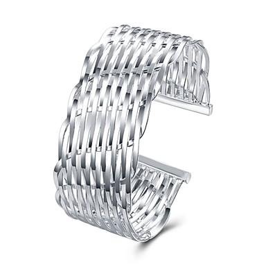 Bilezikler Halhallar Vintage Bohem Arkadaşlık Elyapımı Moda Punk Hiphop Türkçe Bakır Gümüş Kaplama Circle Shape Geometric Shape Mücevher
