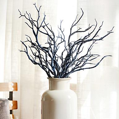 Sztuczne Kwiaty 2 Gałąź minimalistyczny styl Rośliny Bukiety na stół