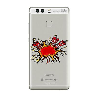 Για Με σχέδια tok Πίσω Κάλυμμα tok Κινούμενα σχέδια Μαλακή TPU για HuaweiHuawei P9 Huawei P9 Lite Huawei P9 Plus Huawei P8 Huawei P8 Lite