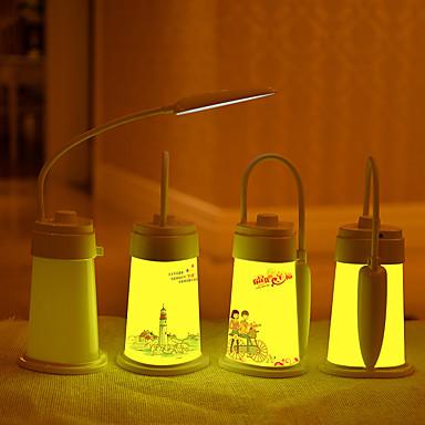 1buc a condus taxa de mici, priza de lumină de noapte în lampă de noptieră lampă de dormit pentru copii da dinții lampă de mână portabile