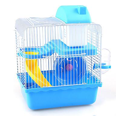 أقفاص متعددة الوظائف بلاستيك معدني كوفي أزرق زهري