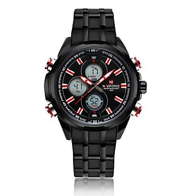 Męskie Sportowy Modny Zegarek na nadgarstek Kwarcowy Stop Pasmo Postarzane Na co dzień Wielokoloroe