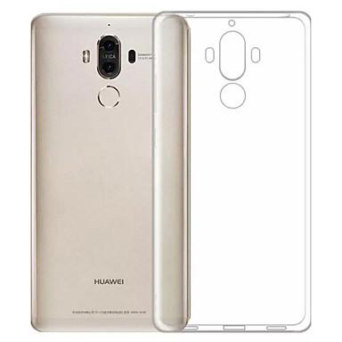 Kılıf Na Huawei Odporne na kurz Ultra cienkie Przezroczyste Czarne etui Solid Color Miękkie TPU na Honor 6X Mate 9 Huawei Enjoy 6s Huawei