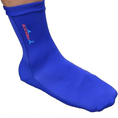 BlueDive® Παιδικό Γιούνισεξ 1mm Γάντια Κατάδυσης Αναπνέει Γρήγορο Στέγνωμα Υπεριώδης Αντίσταση Χωρίς Ραφές Moale Tactel Σκάφανδρο Κάλτσες-
