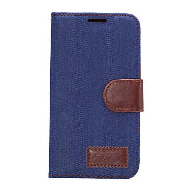 إلى حامل البطاقات مع حامل قلب غطاء كامل الجسم غطاء لون صلب قاسي جلد اصطناعي إلى HTC HTC One M9 HTC One M8