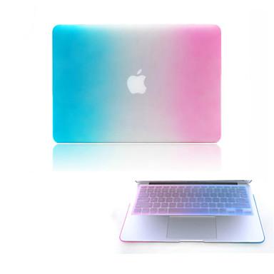 Capa para MacBook para Cores Gradiente Plástico MacBook Pro 15 Polegadas com Retina Display MacBook Pro 13 Polegadas com Retina Display