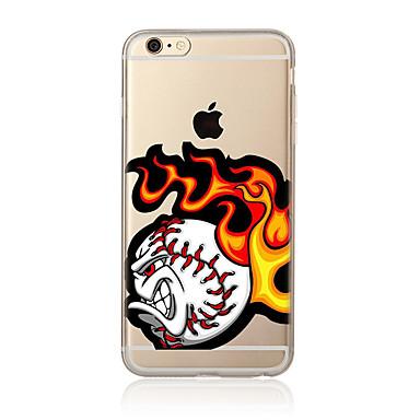 Na Wzór Kılıf Etui na tył Kılıf Kreskówka Miękkie TPU na AppleiPhone 7 Plus iPhone 7 iPhone 6s Plus/6 Plus iPhone 6s/6 iPhone SE/5s/5