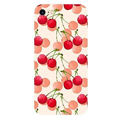Için Ultra İnce Temalı Pouzdro Arka Kılıf Pouzdro Meyve Yumuşak TPU için Apple iPhone 7 Plus iPhone 7 iPhone 6s Plus/6 Plus iPhone 6s/6