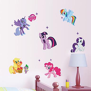 الحيوانات كارتون ملصقات الحائط لواصق حائط الطائرة لواصق حائط مزخرفة,ورقة الفينيل مادة قابل للنقل تصميم ديكور المنزل جدار مائي