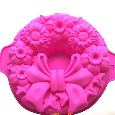 coacere Mold tort pentru pâine pentru Cookie pentru Candy Care înmugurește SiliconCalitate superioară Nuntă Gril pe Kamado ziua