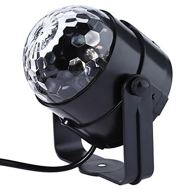 1 parça Gece aydınlatması LED Renk Değiştiren Kompakt Boyut Sanatsal Modern/Çağdaş