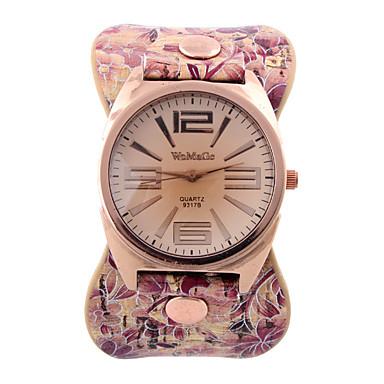 Damskie Zegarek na nadgarstek Modny Kwarcowy Gorąca wyprzedaż Skóra naturalna Pasmo Na co dzień Wielokoloroe