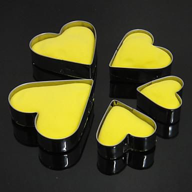 Bakeware araçları Paslanmaz Çelik Kendin-Yap Yüksek kalite Tart Kurabiye Kek Pişirme Kalıp