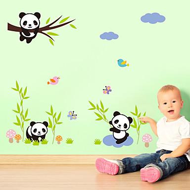 الحيوانات ملصقات الحائط لواصق لواصق حائط مزخرفة,الفينيل تصميم ديكور المنزل جدار مائي جدار