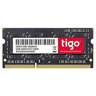 Tigo RAM 2 GB DDR3 1600MHz Notebook / Laptop Memory