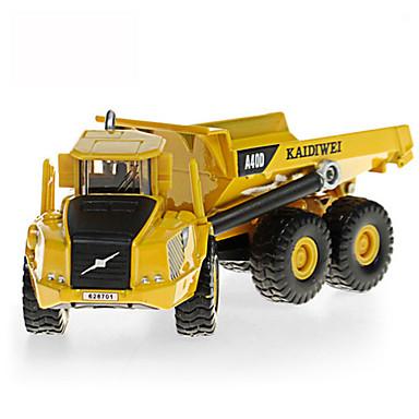 KDW Ανατρεπόμενο φορτηγό Παιχνίδια φορτηγά και κατασκευαστικά οχήματα Παιχνίδια αυτοκίνητα Τηλεσκοπικό Μεταλλικό Πλαστική ύλη ABS 1pcs