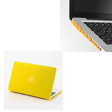 MacBook Θήκη Για MacBook Air 13 ιντσών Συμπαγές Χρώμα Πλαστική ύλη