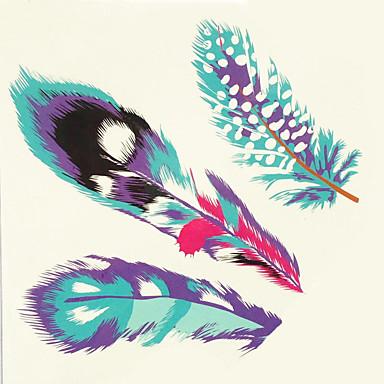1db halloween tetoválás paszta színe tetoválás matrica nagyobb méretben vízálló toll