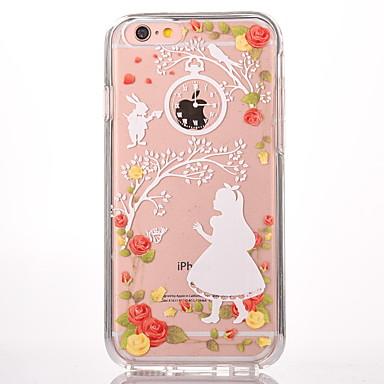 Uyumluluk iPhone 7 Kılıf iPhone 7 Plus Kılıf iPhone 6 Kılıf Kılıflar Kapaklar Temalı Arka Kılıf Pouzdro Seksi Kadın Sert PC için Apple