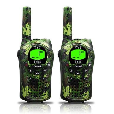 Armia do walkie talkie dzieci oraz 22 kanałów (do 5km na terenach otwartych) armygreen walkie talkie dla dzieci (1 para) t668