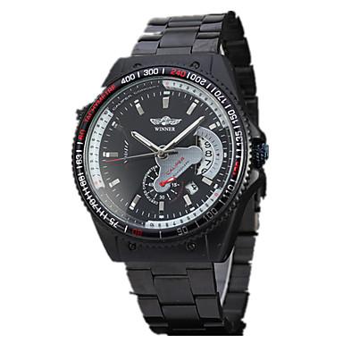 Męskie Nakręcanie automatyczne zegarek mechaniczny Zegarek na nadgarstek Do sukni / garnituru Sportowy Hollow Grawerowanie Duża tarcza