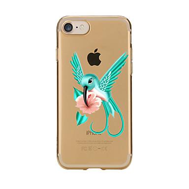 Pentru Transparent Model Maska Carcasă Spate Maska Desen animat Moale TPU pentru AppleiPhone 7 Plus iPhone 7 iPhone 6s Plus/6 Plus iPhone