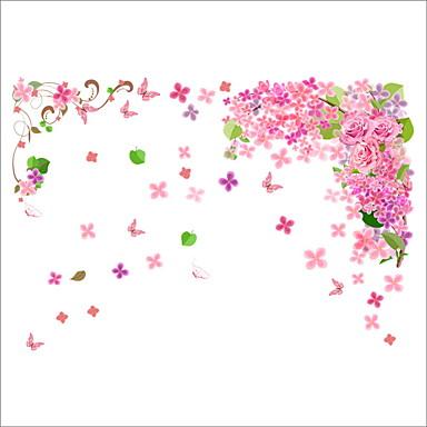Hayvanlar Çiçekler Botanik Duvar Etiketler Uçak Duvar Çıkartmaları Dekoratif Duvar Çıkartmaları, Vinil Ev dekorasyonu Duvar Çıkartması