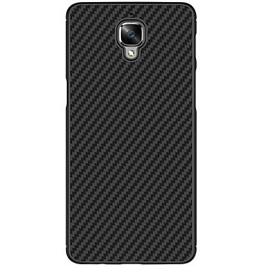 Kılıf Na OnePlus One Plus 3 Odporne na wstrząsy Szron Czarne etui Solid Color Twarde PC na One Plus 3 One Plus 3T OnePlus