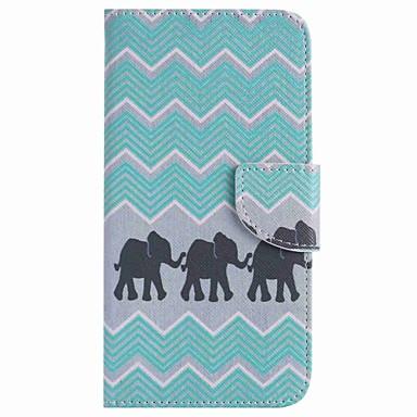 Pentru Portofel Titluar Card Cu Stand Maska Corp Plin Maska Elefant Greu PU piele pentru Google Google Pixel Google Pixel XL