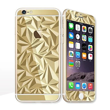 για Apple iPhone 6s / 6 4.7 οθόνη προστάτης μπροστά προστατευτικό οθόνης και πίσω προστάτης ηλεκτρολυτικής γεωμετρικό μοτίβο