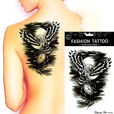 Dövme Etiketleri Hayvan Serileri Non Toxic Waterproof Kadın Erkek Genç flaş Dövme geçici Dövme