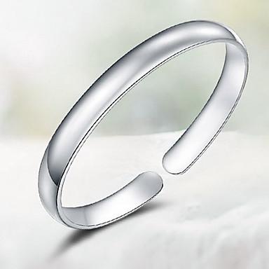 Bransoletki bangle Natura minimalistyczny styl Srebro standardowe Biżuteria Biżuteria Na
