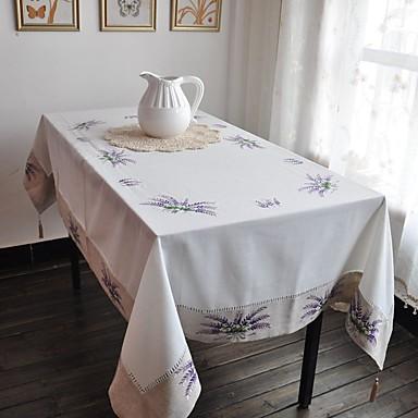 Ορθογώνιο Κεντητό Τραπεζομάντιλα , Μείγμα Βαμβάκι ΥλικόΔείπνο Διακόσμηση εύνοια Διακόσμηση Σπιτιού Ξενοδοχείο Τραπέζι Γαμήλιο Πάρτυ