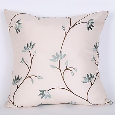 1 kpl Polyesteri Tyynynpäälinen, Koristelut ja kirjailut Euro