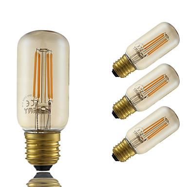 5W E26/E27 مصابيحLED T 4 الأضواء COB تخفيت ديكور خمري 350lm 2200K AC 220-240V