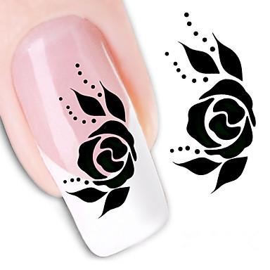 1 Nail Art autocolant Aplicația de transfer de apă machiaj cosmetice Nail Art Design